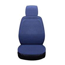 Confortável respirável linho capa de assento do carro protetor dianteiro ou traseiro é adequado para 98% modelo acessórios do carro capa de assento