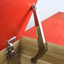 Yeni hidrolik basınçlı gaz bahar damperler 60/100/150N kapı asansör destek mutfak dolabı menteşe kalmak dikme mobilya kaldırma