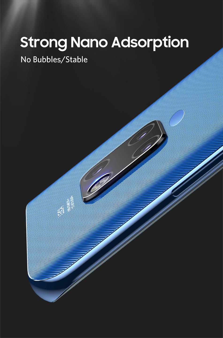 Benks 2PC KR Tempered Glass Back Camera Lens For Huawei Mate 20 Pro 20X Cover Screen Protector 0.15mm Ultra-thin Protective Film (3)