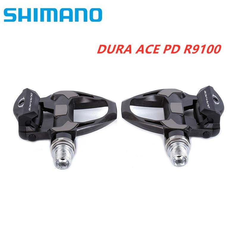 SHIMANO DURA-ACE R9100 PD-R9100 PD-R9100 E1 SPD SL Carbon Road Bike Bicycle Pedal