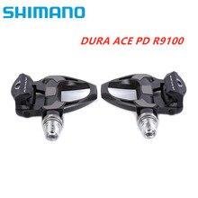 SHIMANO DURA ACE R9100 PD R9100 PD R9100 E1 SPD SL karbon yol bisikleti bisiklet pedalı