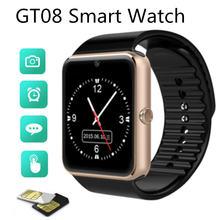 Умные часы gt08 Смарт с tft hd sim картой кнопкой sos камерой