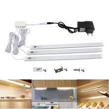 Light Led-Strip Infrared-Sensor Rigid Bathroom-Lamp Under-Cabinet Hand-Sweep 12V