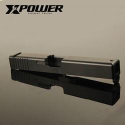 XPOWER металлическая горка для G17/P1 CNC Металл GBB газ удар обратно гель Blaster Аксессуары обновленный страйкбол Wargame Спорт на открытом воздухе