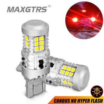 Светодиодный стоп-сигнал, 2x CANBUS BAY15D P21/5W 1157 7443 W21/5W 3030