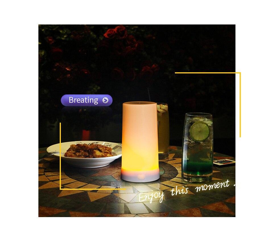 Luz da noite lâmpada de mesa led