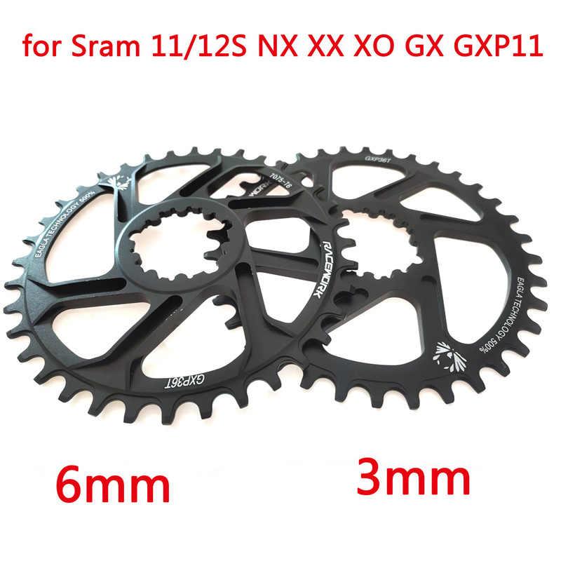 GXP vélo vtt VTT 30 T/32 T/34 T/36 T/38 T couronne chaîne de vélo pour Sram 11/12S NX XX XO GX GXP11 plateau à disque unique