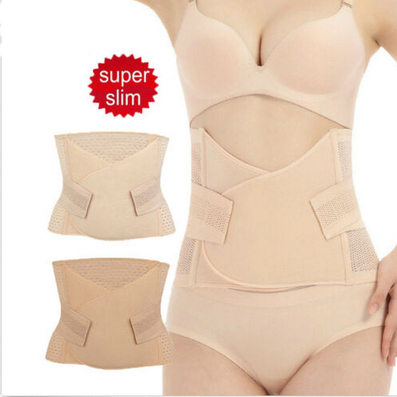 Slimming Belt Womens Body Waist Shaper Girdle Adjustable Tummy Tuck Fat Slim Skin Apricot Solid Color 2020 Hot Sale Shaper Waist