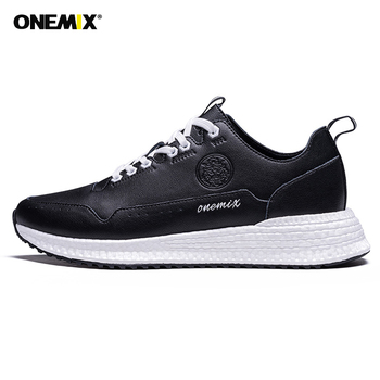 ONEMIX Men Running Shoes Lac-up Men Shoes Lightweight Comfortable Breathable Walking Sneakers masculino Zapatillas Hombre