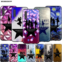 Webbedepp Hamilton Musicale Paroles étui pour samsung Galaxy S7 S8 S9 S10 Plus Bord Note 10 8 9 A10 A20 A30 A40 A50 A60 A70(China)