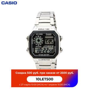 Наручные часы Casio AE-1200WHD-1A мужские электронные на браслете