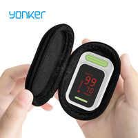 Yonker oxymètre de pouls médical oxymètre de pouls Portable LED oxymètre du bout des doigts moniteur de Saturation en oxygène dans le sang