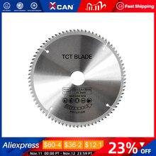 XCAN 1 шт. 185/210/250 мм 60T/80T TCT фрезеровочный диск для дерева, твердосплавное лезвие для пилы TCT