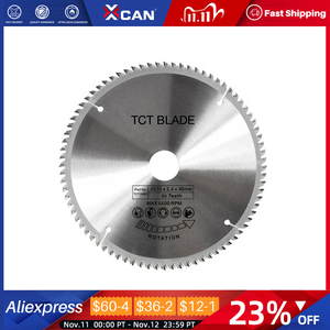 Image 1 - XCAN 1pc 185/210/250mm 60T/80T TCT Wood Circular Saw Blade Wood Cutting Disc Carbide TCT Saw Blade