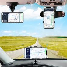 Titular Suporte Do Telefone Móvel Suporte do Telefone do carro em Painel Do Carro câmera de Visão Traseira Espelho Sombrinha Defletor Telefone Celular GPS Titular Montar apoio
