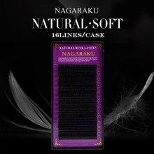 Nagaraku 16 Rijen Faux Lash Individuele Wimper Verlenging Wimpers Maquiagem Cilios Voor Professionals Zachte Natuurlijke Wimper Extension
