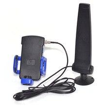 Superbat 1750 ~ 2170MH téléphone portable antenne 12dB Signal Booster avec pince 3G antenne FME Jack connecteur 2.5M câble