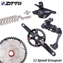 ZTTO горный велосипед 1*11 скоростной групповой переключатель передач 11 s 46T 42t 40t кассета k7 11 s цепной ток цепной механизм кривошипная система