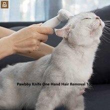 Mijia Pawbby bıçak bir el saç temizleme aracı, el kavrama mühendislik aracı köpekler ve kediler için