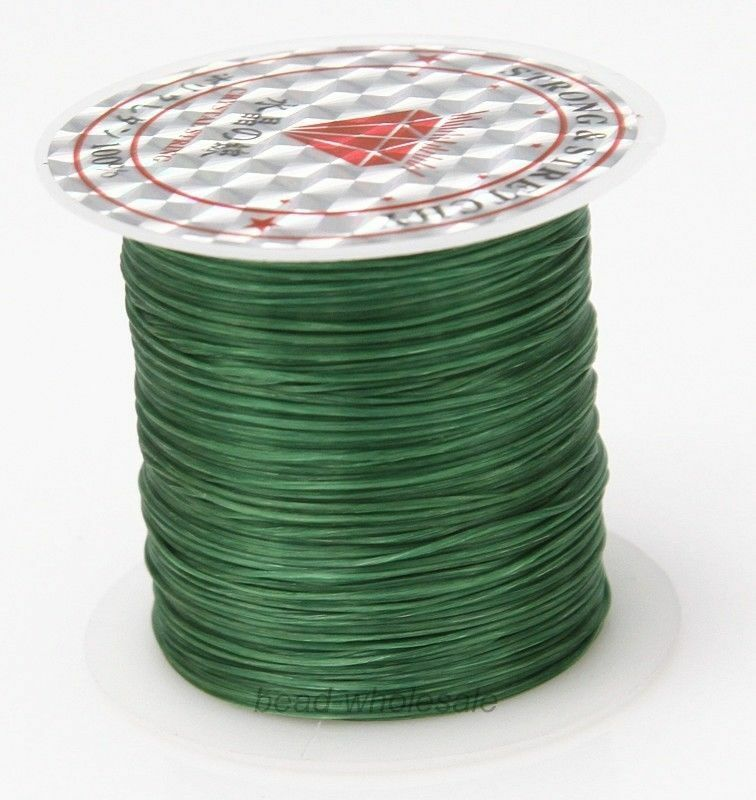 393 дюйма/рулон, крепкий эластичный шнур для бисероплетения с кристаллами, 1 мм, для браслетов, стрейчевая нить, ожерелье, сделай сам, для изготовления ювелирных изделий, шнуры, линия - Цвет: Color 14