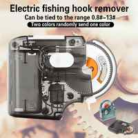 Automatic Portable Electric Fishing Hook Tier Machine New Design Tie Fast Fishing Hooks Fishing Line Tying Device Accessories