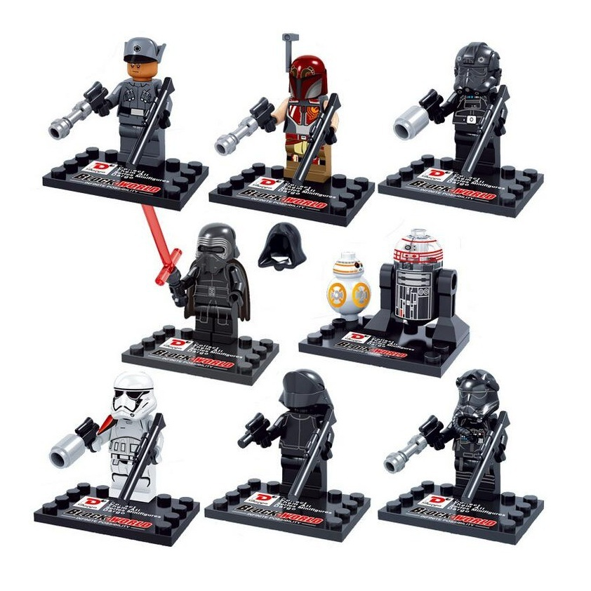 Star Wars The Force Awakens Mini Building Blocks Figures