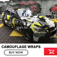 matte glossy Camo Vinyl Film Sticker Bomb Car Wraps Foil Graffiti Camouflage Vinyl Car Wrapping Camo Vinyl Film Roll Decal car