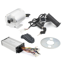 Mid Drive Motor Electric Bike Kit 1000W/1500W Phase Bldc Motor For Bicycle Central Engine Kit 48V Brushless Motors Accessories