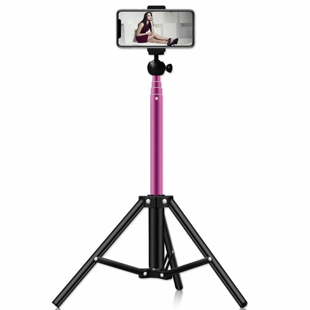 Professioanl Tripod Selfie Time Light Stand for Video Record Camera shooting  Selfie Lighting
