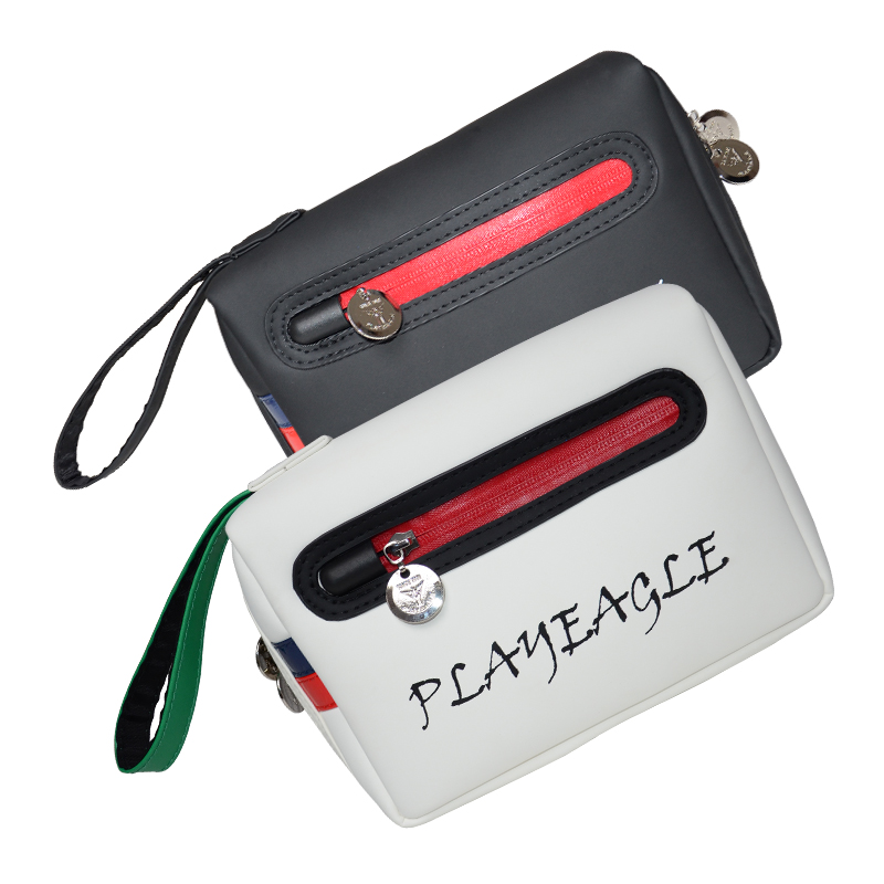 PLAYEAGLE Golf Pouch Bag Handbag Waterproof Zipper Mini Golf Bag Cell Phone Pouch Makeup Cosmetic Bag