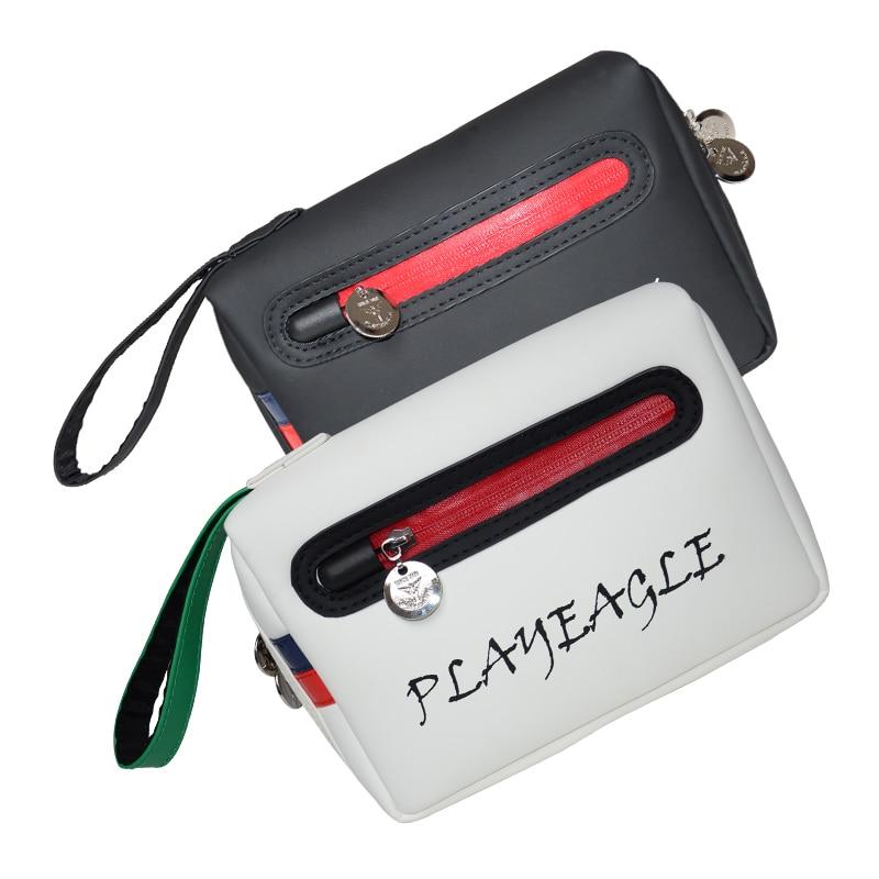 PLAYEAGLE Golf Pouch Bag Handbag Waterproof Zipper Mini Golf Bag Cell Phone Pouch Makeup Cosmetic Bag|Golf Bags| |  - title=