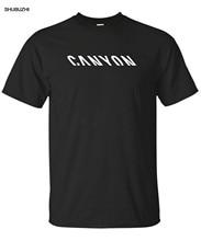 Logotipo da Fábrica de Bicicletas MTB Bicicletas Canyon Camiseta Motociclistas Novo Harajuku streetwear camisa dos homens Da Tripulação Tee S 2XL