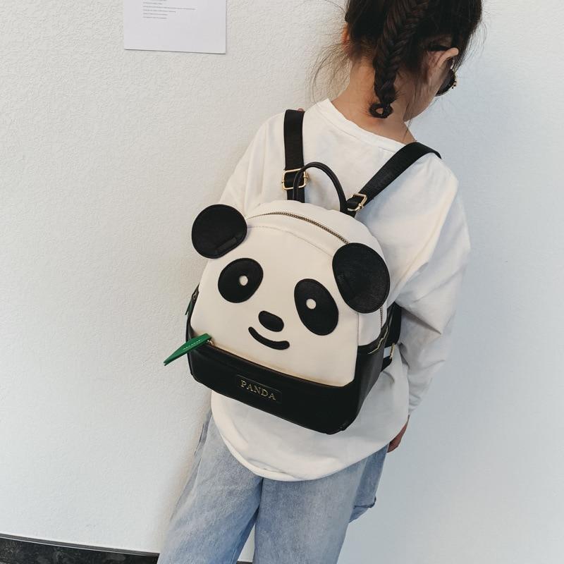 Детский Школьный рюкзак с 3D рисунком панды, мультяшный ранец для мальчиков и девочек, симпатичная сумка для учеников, подарок