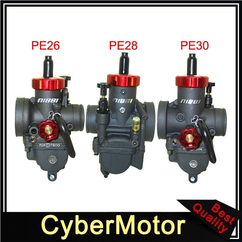 NIBBI PE26 26mm/PE28 28mm/ PE30 30mm gaźnik do Pit Dirt Bike ATV Quad Honda Yamaha Suzuki Kawasaki skuter Motor Bike