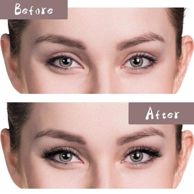 Eyelashes Extension Individual Silk Volume Faux Mink Lash Extension Premium Handmade Eyelash Natural Soft Cilios Lashes Make Up 5