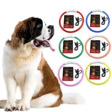 цена на LED Pet Dog Collar Night Safety Flashing Glow In The Dark Dog Leash Dogs USB Charging Collars Pet Supplies
