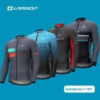 LAMBDA-Conjunto de Jersey de Ciclismo de manga larga para hombre, pantalones de ciclismo de montaña o carretera, para invierno, para primavera y otoño