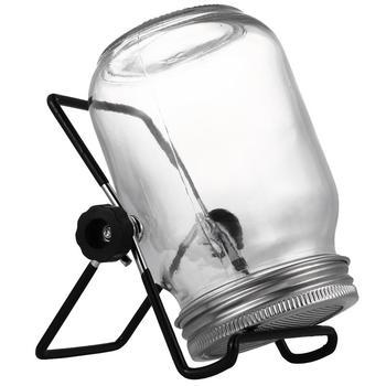 Zestaw kiełkowania nasion ze stali nierdzewnej kryty kiełków kiełków szerokie usta słoiki do zapraw z sitkiem Stan kiełkowania zestaw narzędzia ogrodowe tanie i dobre opinie CN (pochodzenie) glass jar Other Niepowlekany