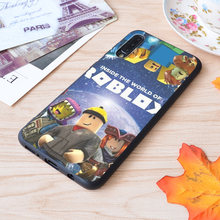 Inside The World Of Roblox Games Print Soft Silicone Matt Case For Samsung Galaxy S Note and Galaxy A(China)