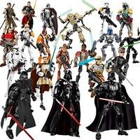 Bouwstenen 28 Stijl Star War Bebouwbare Action Poppen Rey Luke Skywalker Speelgoed Compatibel Met Lepinblock