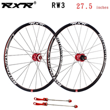 RXR mountain bike MTB bike wheelset RW3 Aluminum alloy 27.5 inches Disc Brake 5 Bearings 7-11speed Thru Axle/QR Bicycle Wheel стоимость