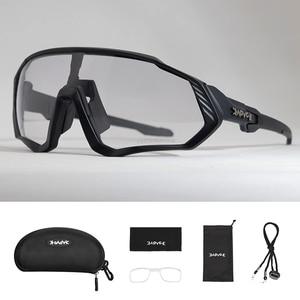 Image 3 - Photochromic Cycling Sunglasses Men&Women Outdoor sport Bicycle Glasses Bike Sunglasses Goggles Eyewear Gafas Ciclismo 1Lens
