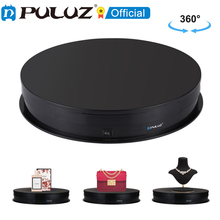 PULUZ 30cm 15cm USB Electric Rotating 360 Degree Turntable Display Stand Holder Video Shooting Props Turntable for Photography