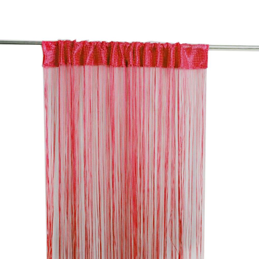 1x2m Tassel Party Home String Curtain Fringe Panel Window Divider Patio Fly Screen For Door Living Room Net Bedroom Decor