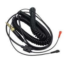 Headphone Adapter Replacement Spring Coil Cable Cord for Sennheiser HD25 HD560 HD540 HD480 HD430 414 HD250 Earphones Headset