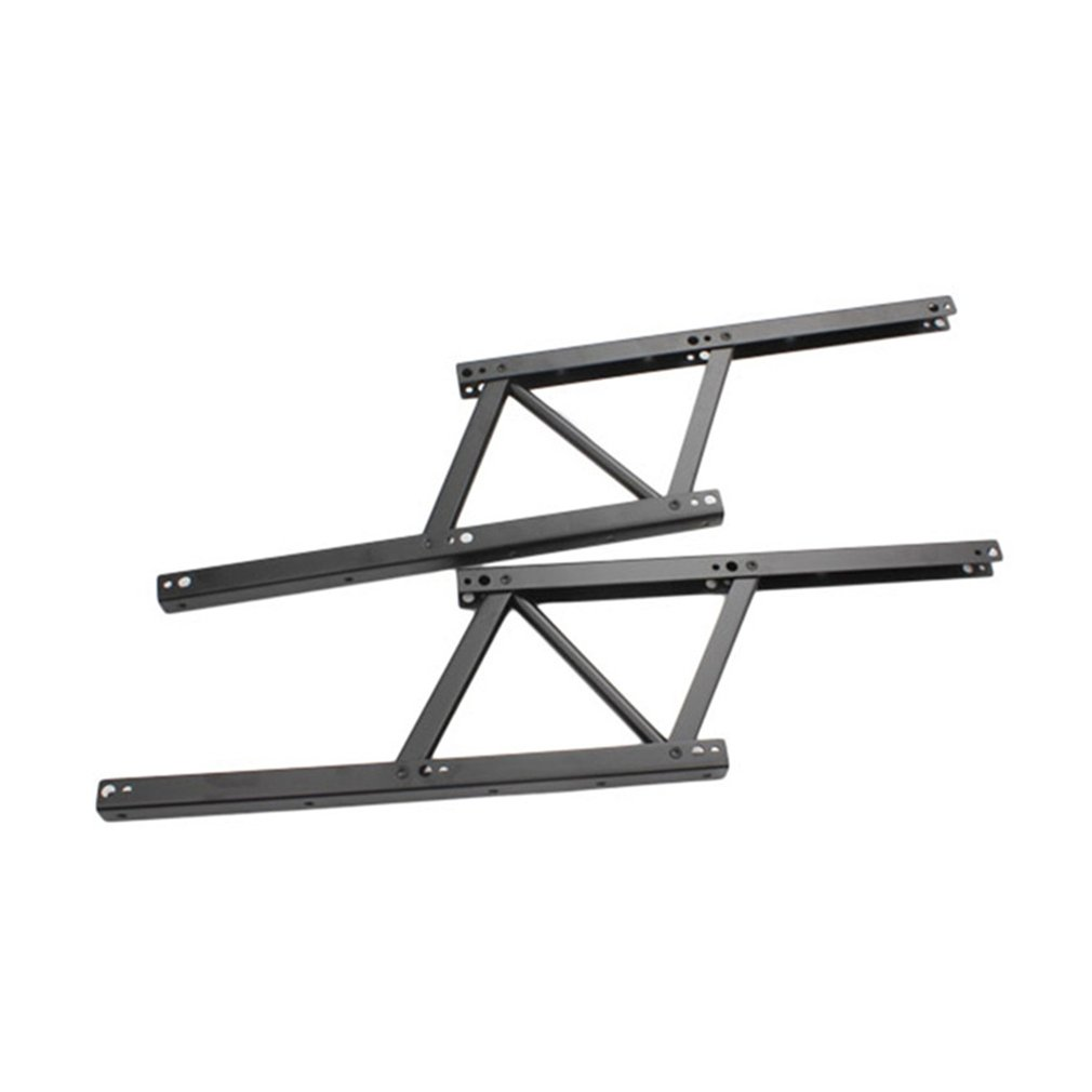 1 Pair Lift Up Top Coffee Table Lifting Frame Mechanism Hinge Hardware Fitting with Spring Folding Standing Desk Frame