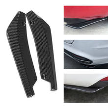 Racing look 44*11cm/17.32*4.33 inch. Bumper Protectors Durable Universal Double side Professional High quality Car use(China)