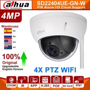 Оригинальная ip-камера Dahua PTZ SD22404T-GN-W SD22404T-GN 4MP 4X Zoom, высокоскоростная сетевая WiFi Проводная ip-камера WDR Ultra IVS IK10