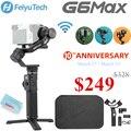 FeiyuTech Feiyu G6 Max 3-осевая карманная Камера карданный Стабилизатор Для беззеркальных Камера карман Камера GoPro Hero 7 6 5 смартфон