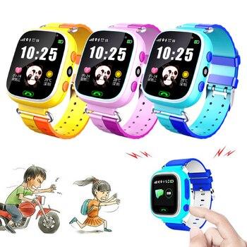 Smart Watch Kids LED Full Touch Screen Waterproof Running GPS Locator Children